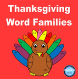 Thanksgiving Word Families