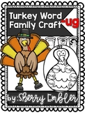 Thanksgiving Word Family Craft -ug words