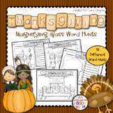 Thanksgiving Sight Word Hunt