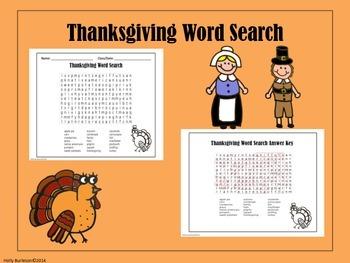 Thanksgiving Activites