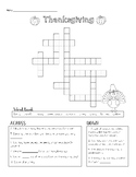 Thanksgiving Word Search - FREEBIE