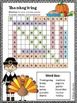 Thanksgiving Word Search  *HARD