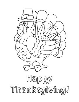 Thanksgiving Word Sort and Coloring Page Freebie