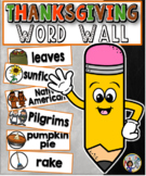 Thanksgiving / Fall Word Wall Cards Set
