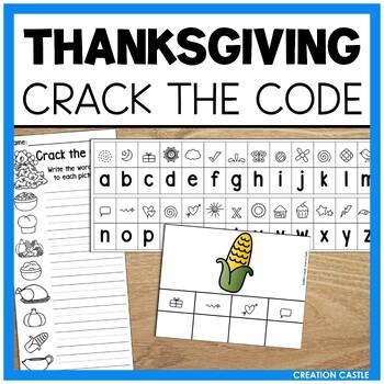 Thanksgiving Activities Word Work