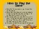 Thanksgiving Word Work Game