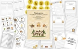 Thanksgiving Word Work and Writing Activities