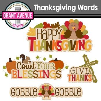 Thanksgiving Wordart