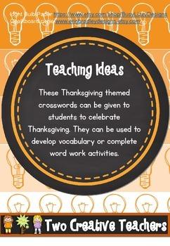 Thanksgiving Wordfinds