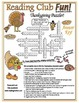 Thanksgiving Words Crossword Puzzle