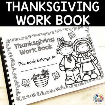 Thanksgiving Work Book
