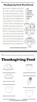 Thanksgiving Worksheet Bundle