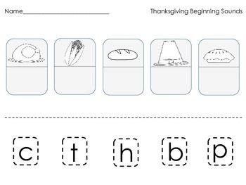 Thanksgiving Worksheet Pack