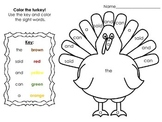 Thanksgiving Worksheet Pack