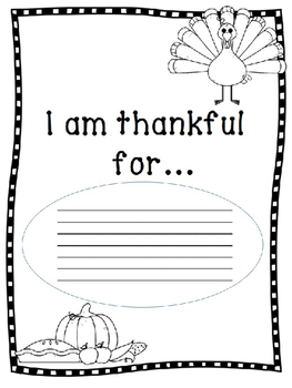 Thanksgiving Worksheet Pack NEW 2016-2017