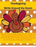 Thanksgiving Write Around the Room