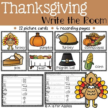 Thanksgiving Write the Room