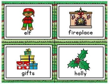 Christmas Write the Room A-Z