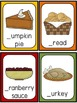 Thanksgiving Write the Room-Beginning Sounds