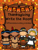Thanksgiving Write the Room {Differentiated Writing Activities}