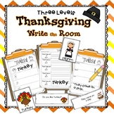Write the Room ~ Kindergarten - 2 (Differentiated) ~ Thanksgiving