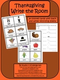 Thanksgiving-Write the Room Set