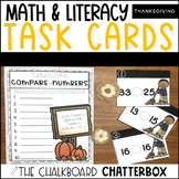 Thanksgiving Write the Room Task Cards