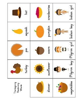 Thanksgiving Write the Room and Center Activities