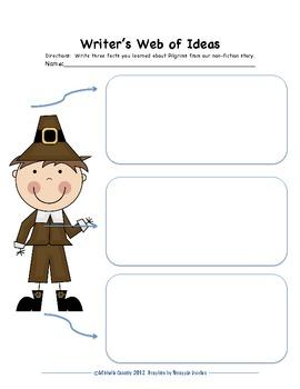 Thanksgiving Writer's Workshop Packet