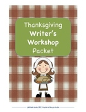 Thanksgiving Writer's Workshop Packet