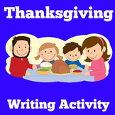Thanksgiving Writing Prompts | Activity