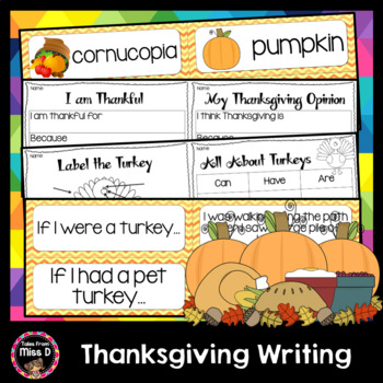 Thanksgiving Writing