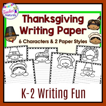 Thanksgiving Creative Writing Paper