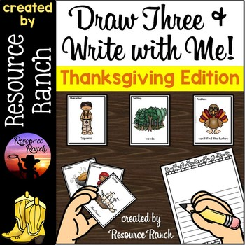 Thanksgiving Activity Writing Center