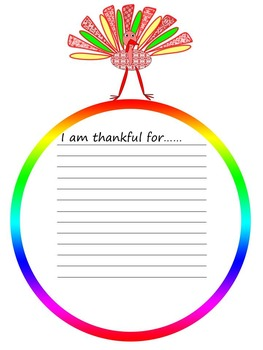 Thanksgiving Writing - Activity - Bulletin Board Decorations
