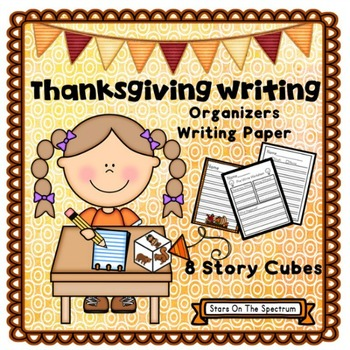 Thanksgiving Writing Prompts and Paper