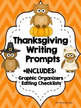 Thanksgiving Writing #1