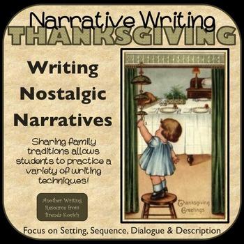 Thanksgiving Writing - A Nostalgic November Narrative