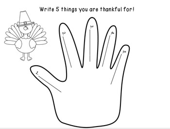Thanksgiving Writing Prompts /  Thanksgiving Writing Ideas