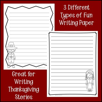 Thanksgiving Writing Activities