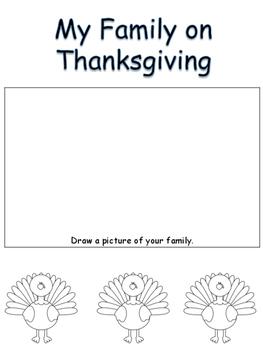 Thanksgiving Writing Activities