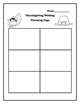 Thanksgiving Writing Activities & Craft