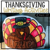 Thanksgiving Writing Activities - Turkey Hats and Writing