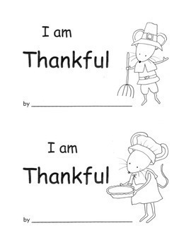 kindergarten thanksgiving printable book writing activity by barbiew66
