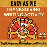 Compare and Contrast Thanksgiving Writing Activity with Gr