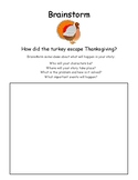 Thanksgiving Writing Activity - How Did the Turkey Escape Thanksgiving?