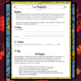 """Thanksgiving Writing Activity: Letter of thanks """"I am thankful for. . ."""""""