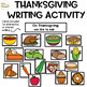 Thanksgiving Writing Activity: Making Lists Printable and Shared Writing!