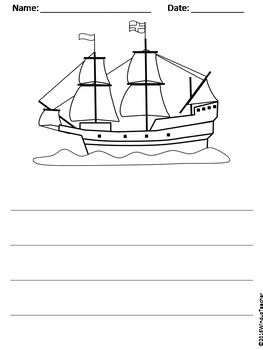 Thanksgiving Writing Activity Pack