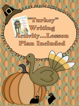 Thanksgiving Writing Activity...Writing in First Person